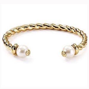 New tory burch rope pearl cuff